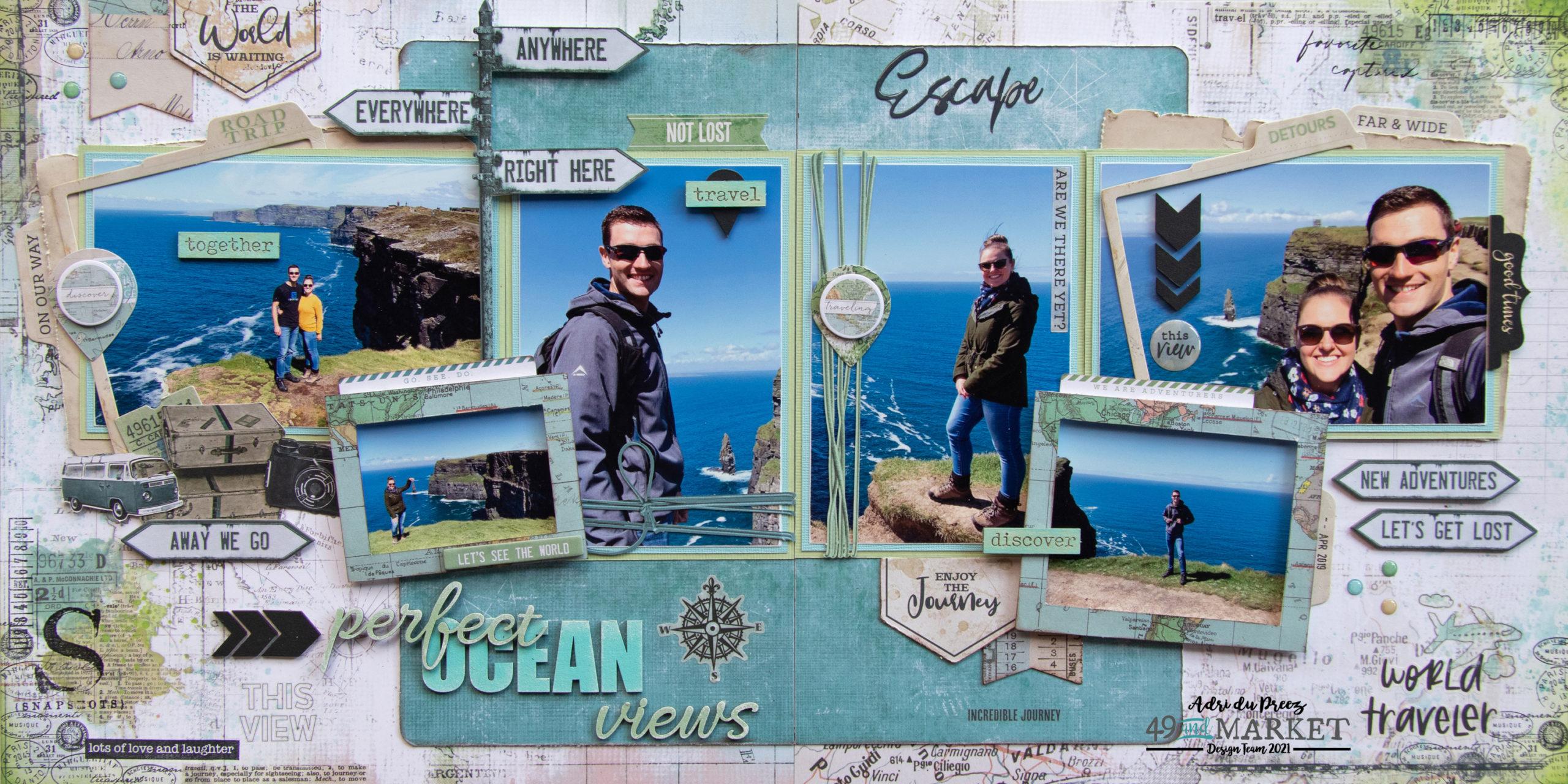 Perfect Ocean Views - Double layout by Adri du Preez