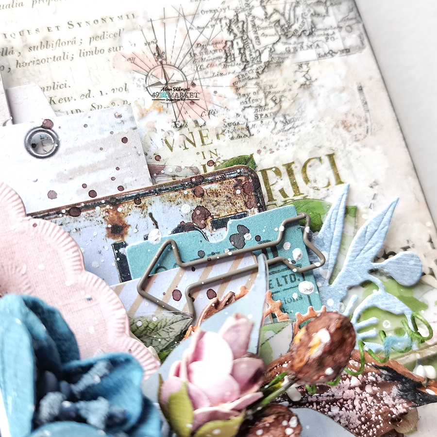 Favorite place - Mixed media layout by Alena Shkarpet