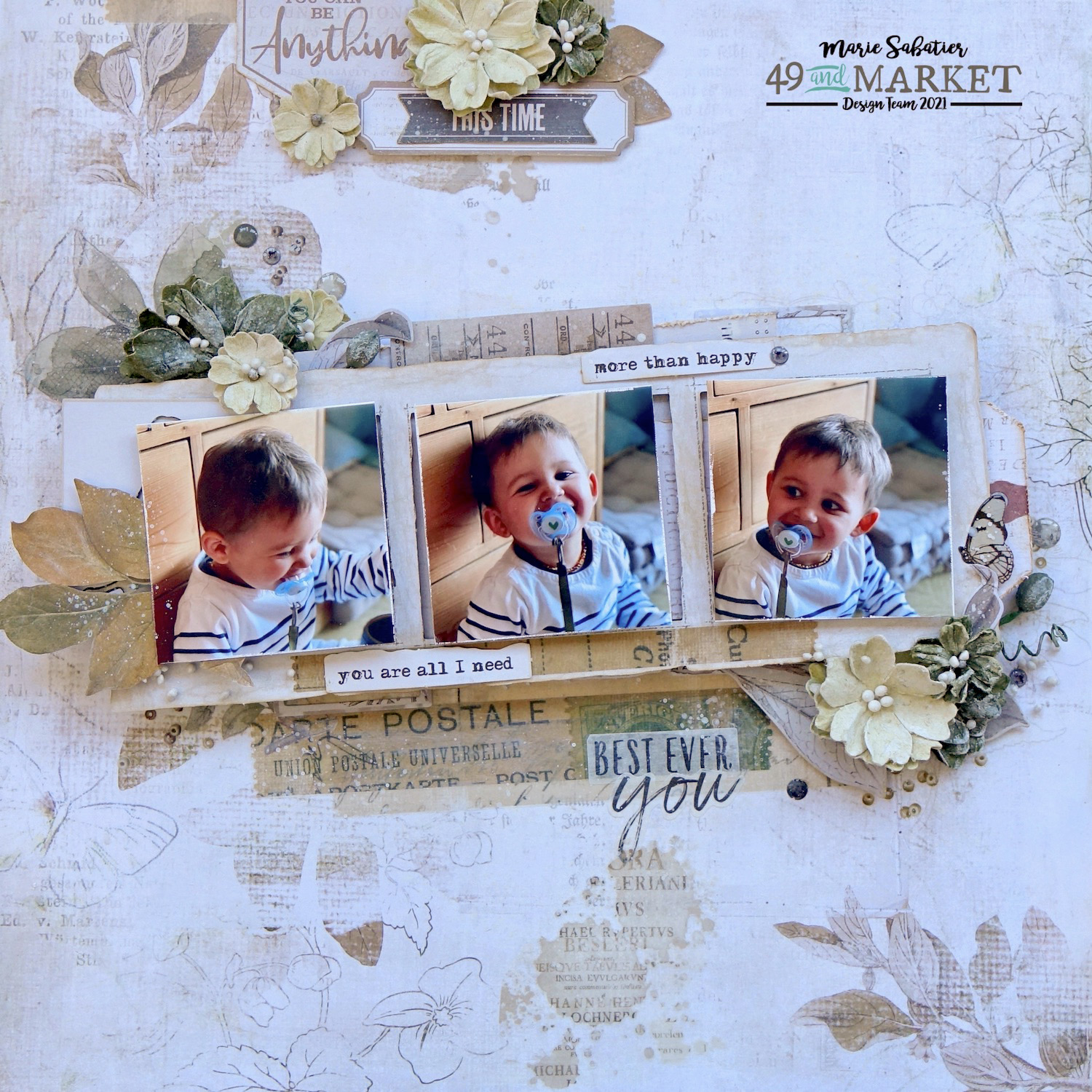 This Time - Layout by Marie Sabatier