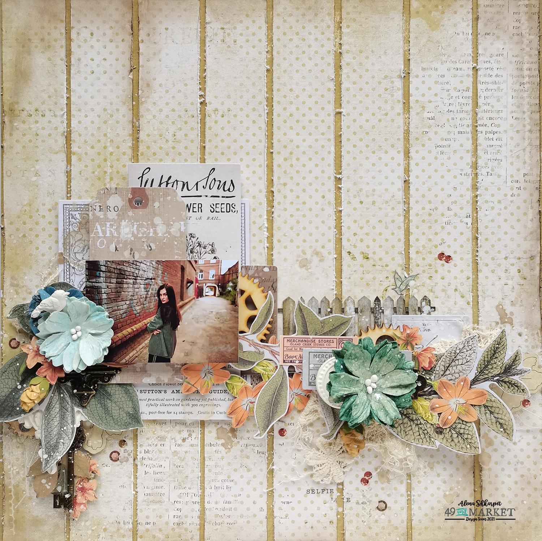 Forever - Layout by Alena Shkarpet