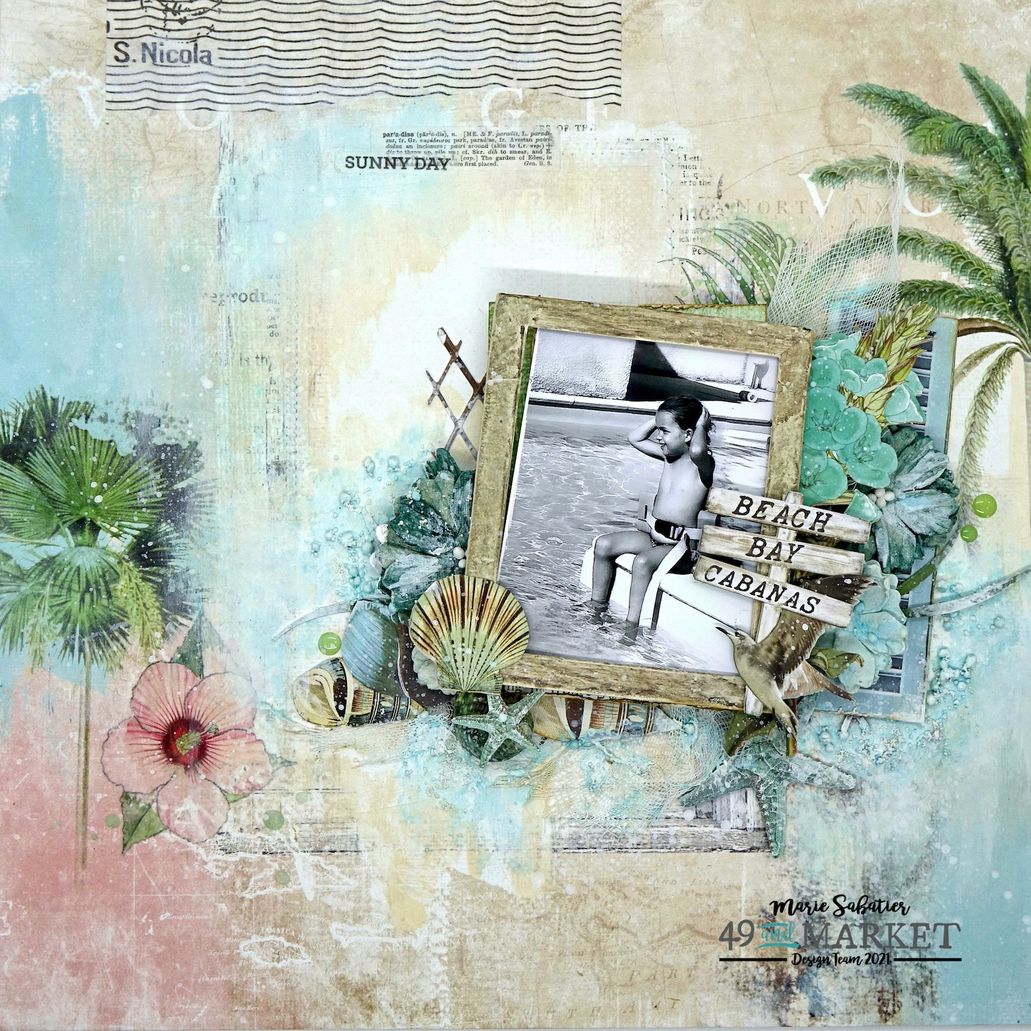 Sunny Day - Layout by Marie Sabatier