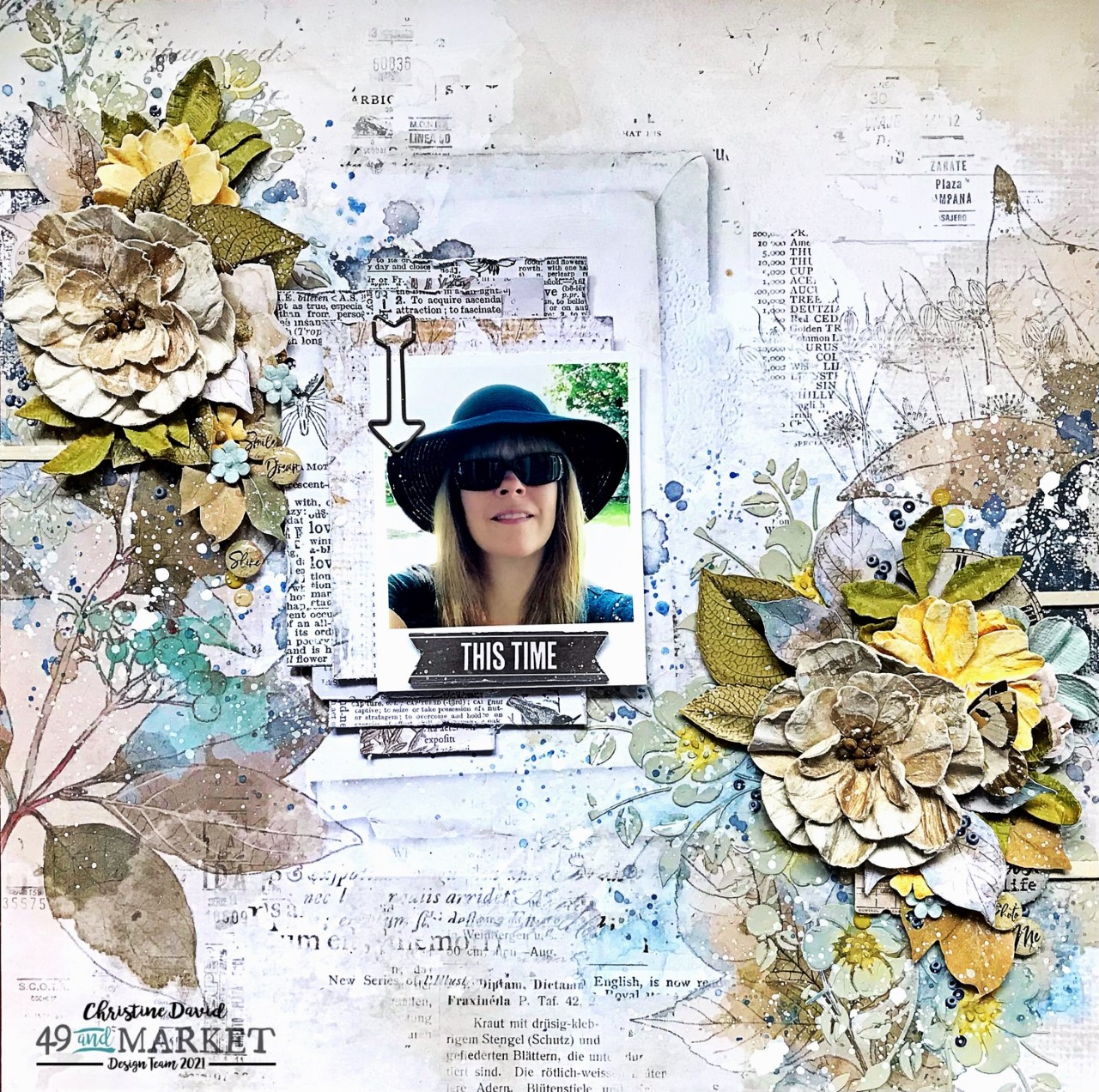 This time - Layout by Christine David