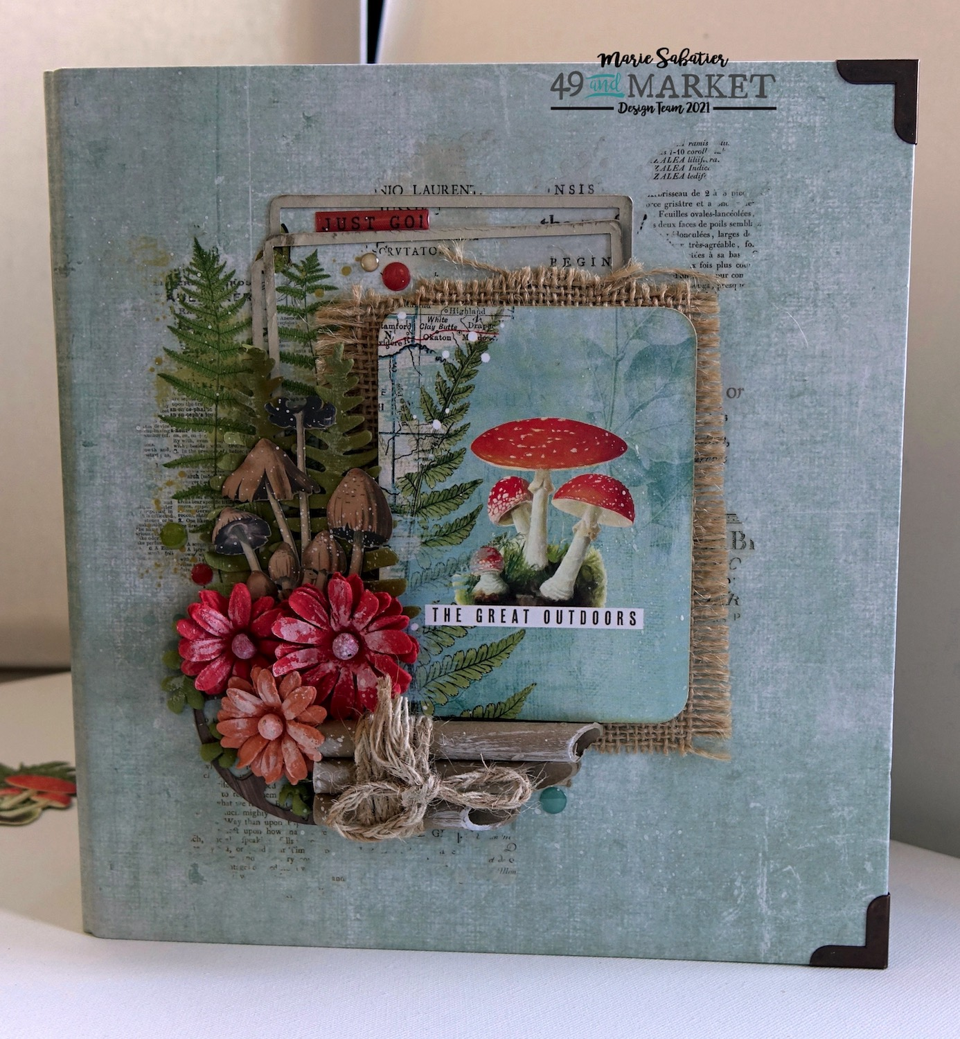 The Great Outdoors - Mini Album by Marie Sabatier