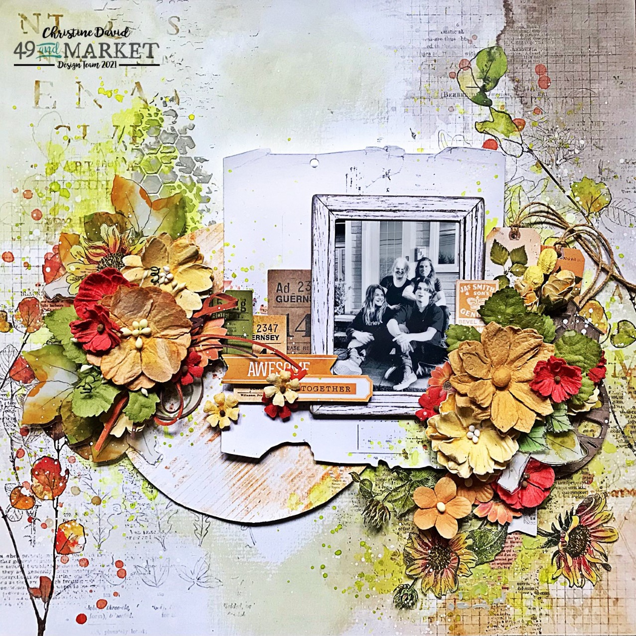 Together - Layout by Christine David