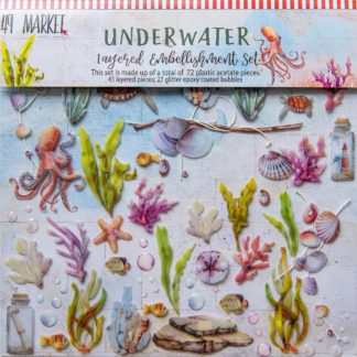 Underwater Layered Embellishment Set