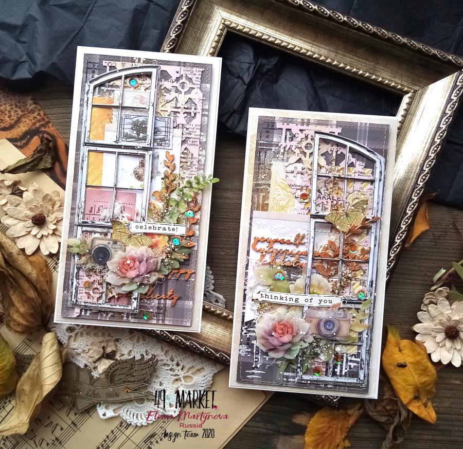 Fall cards by Elena Martynova