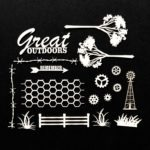 AB-88688 Great Outdoors Archival Chipboard