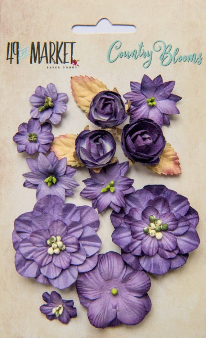 Country Blooms - Violet
