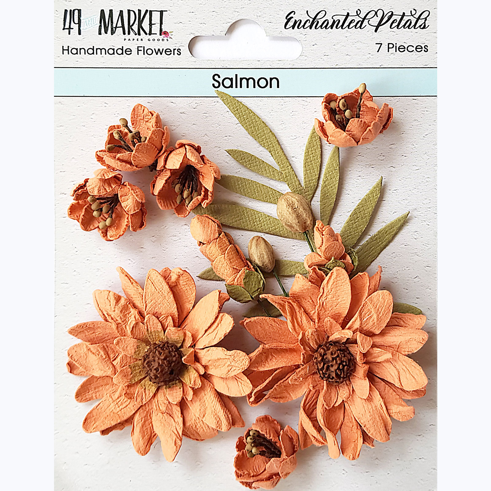 Enchanted Petals - Salmon