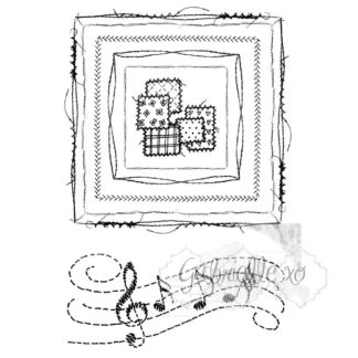 Gabis Stitch Square Stamp Set GP4598