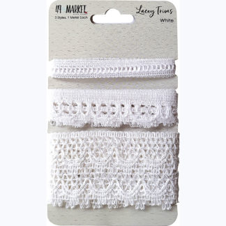 Lacey Trim - White