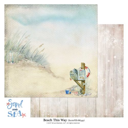 SS-86349 Sand and Sea Collection: Beach This Way