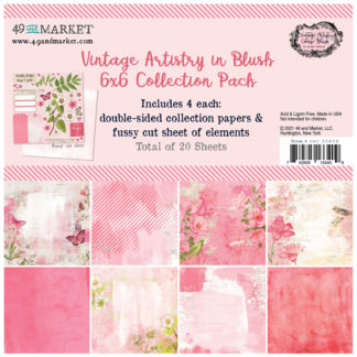 VAC-33409 Vintage Artistry Blush - 6x6 Collection Pack