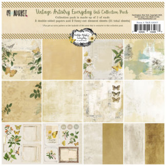 VAE-33287 Vintage Artistry Everyday 6x6 Collection Pack