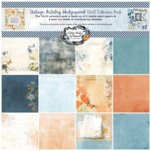 VAW-33256 Vintage Artistry Wedgewood 12x12 Collection Pack