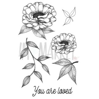 VO-85953 Valerie's You Are Loved Stamp Set (4x6)