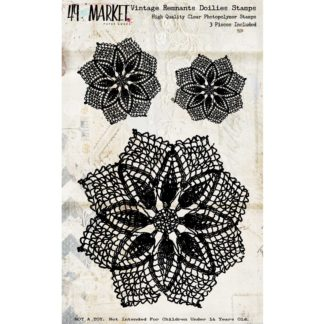 49 And Market - Vintage Remnants - Doilies Stamp