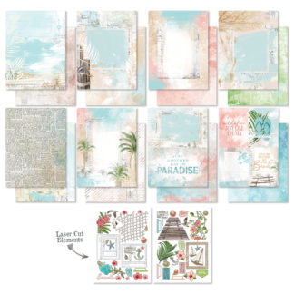 VTH-3436 Vintage Artistry Beached - 6x8 Collection Pack