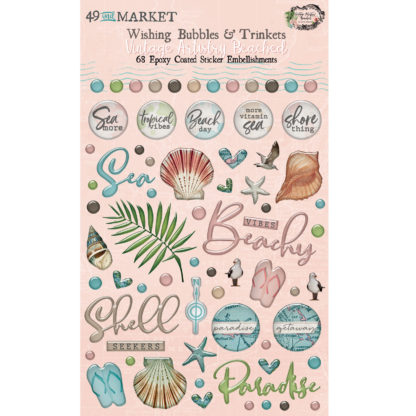 VTB-34482 Vintage Artistry Beached - Wishing Bubbles and Trinkets