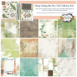 VTH-34352 Vintage Artistry Hike More - 12x12 Collection Pack