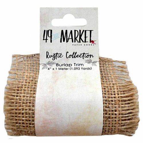"Burlap Net Ribbon Roll 4"" X 1m RB 84390"